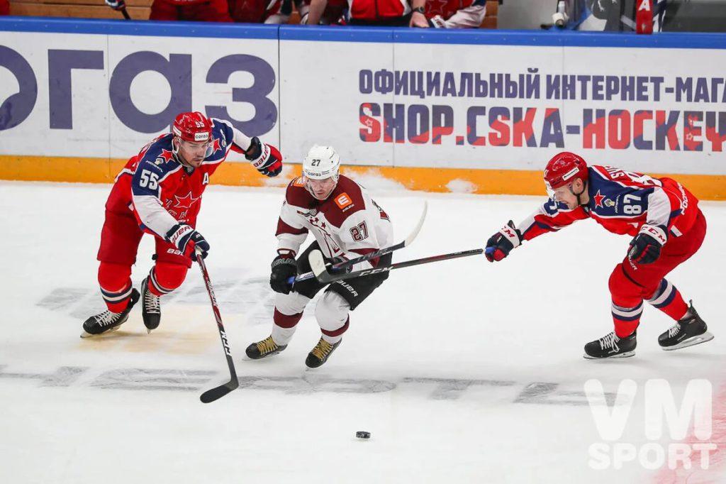 ПХК ЦСКА-ХК Динамо Рига