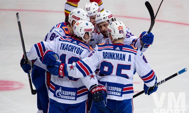 Стрёмвалль и Марченко стреляют дуплетом и СКА превращает 0:3 в победу над «Куньлунь Ред Стар»