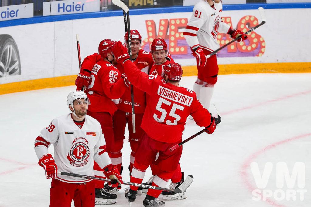 ХК Спартак-ХК Витязь