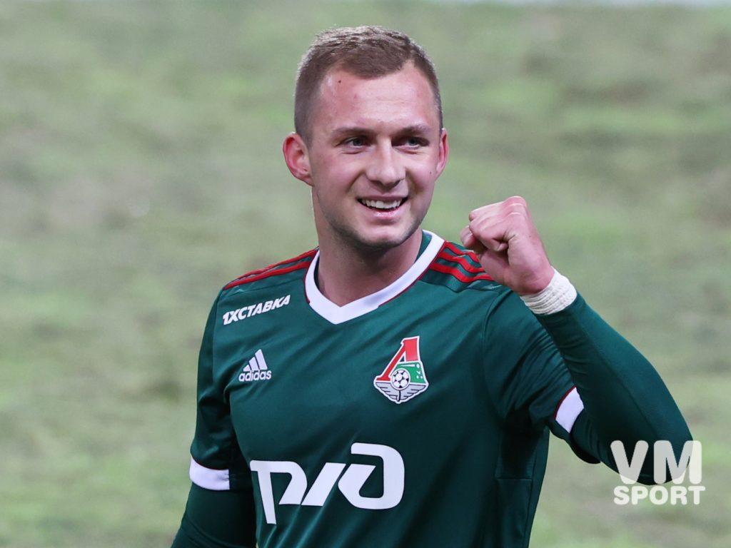 ФК Локомотив. Дмитрий Баринов
