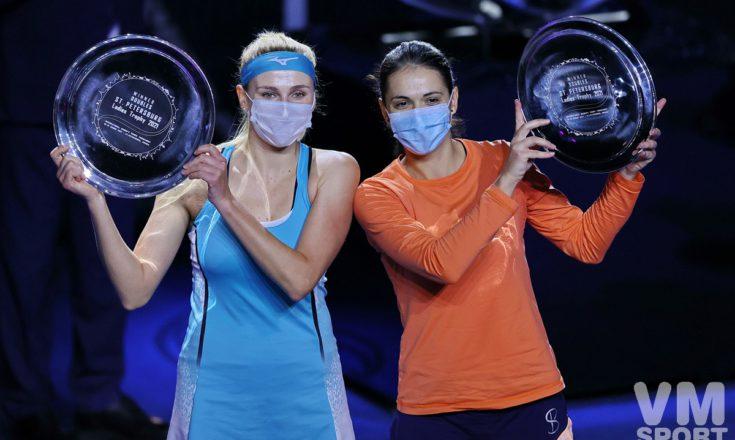 Теннис. Надя Киченок и Ралука Олару