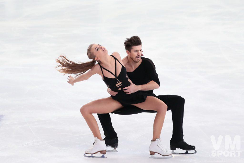 Фигурное катание. Александра Степанова и Иван Букин