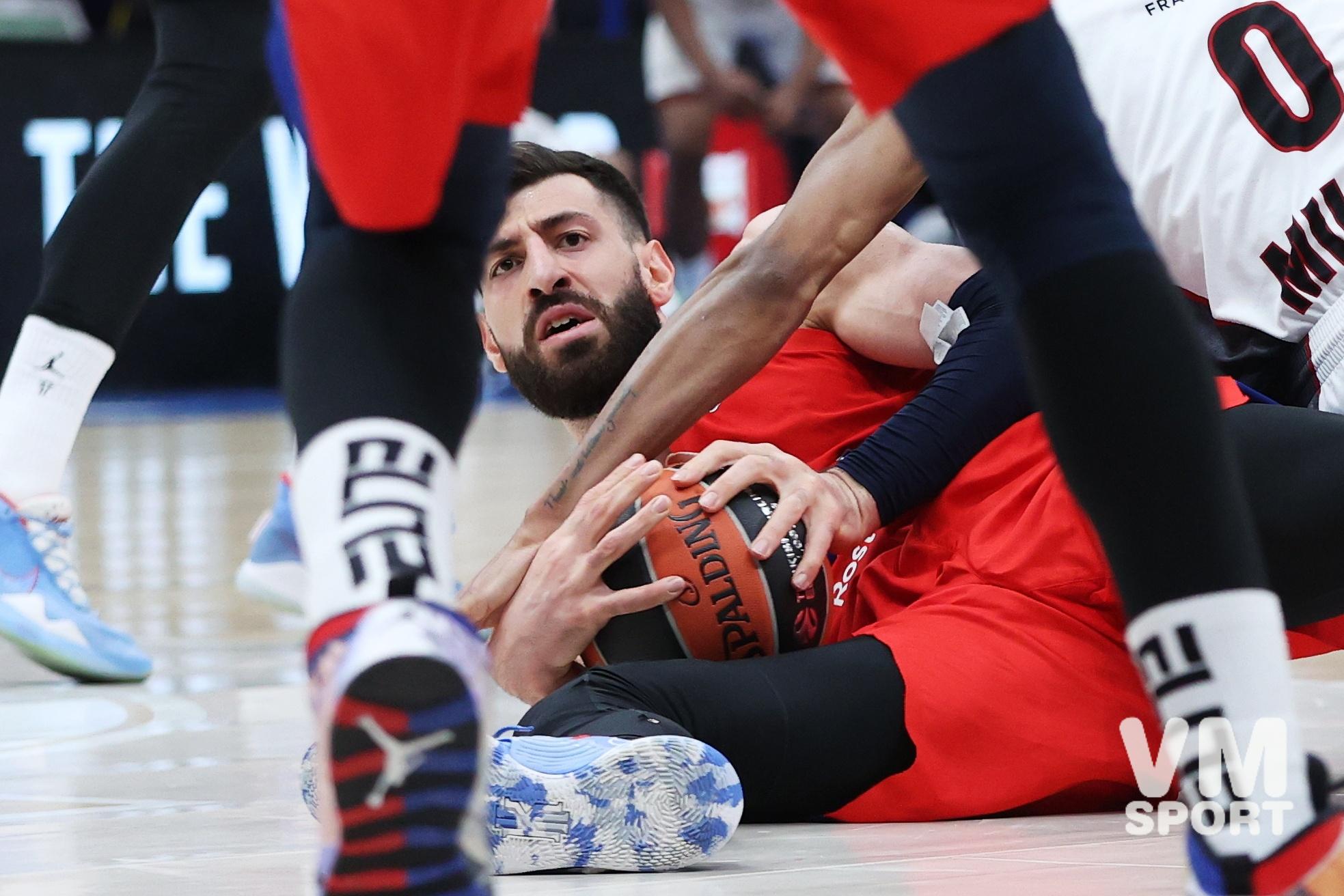 ПБК ЦСКА-БК Олимпия Милан. Торнике Шенгелия