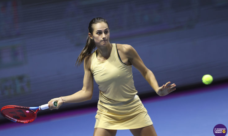 Теннис. Анастасия Гасанова