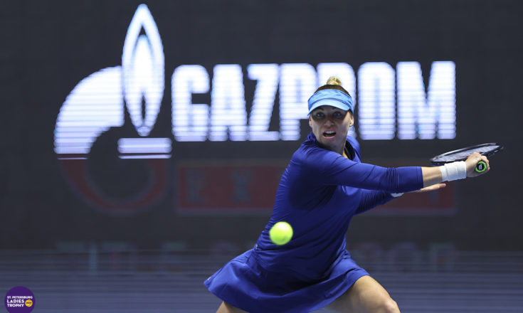 Теннис. Вера Звонарёва