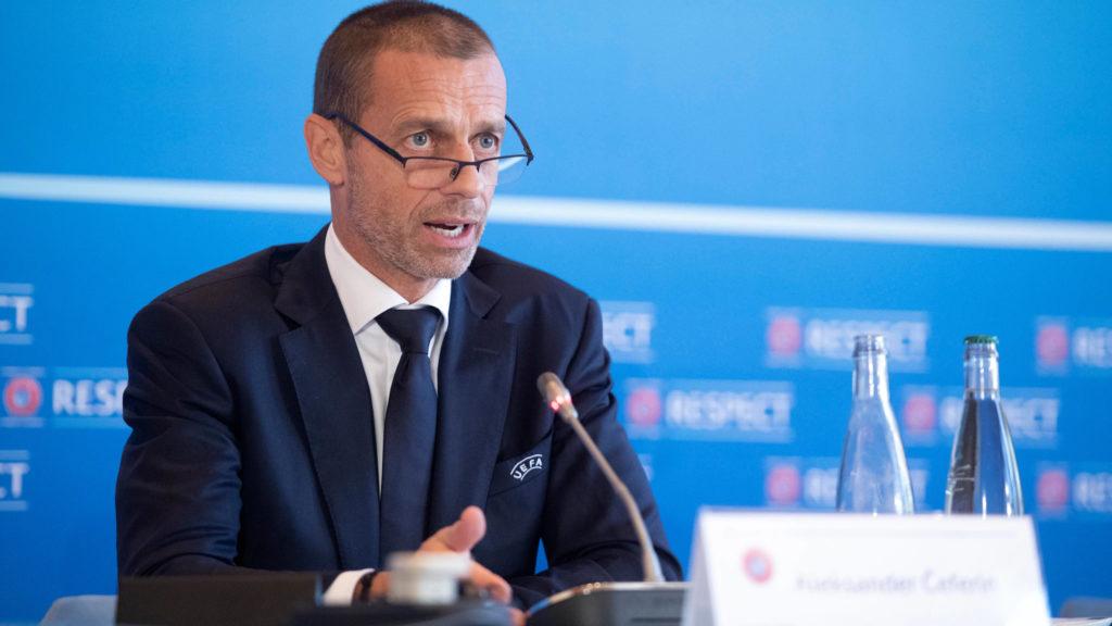 Александер Чеферин. УЕФА