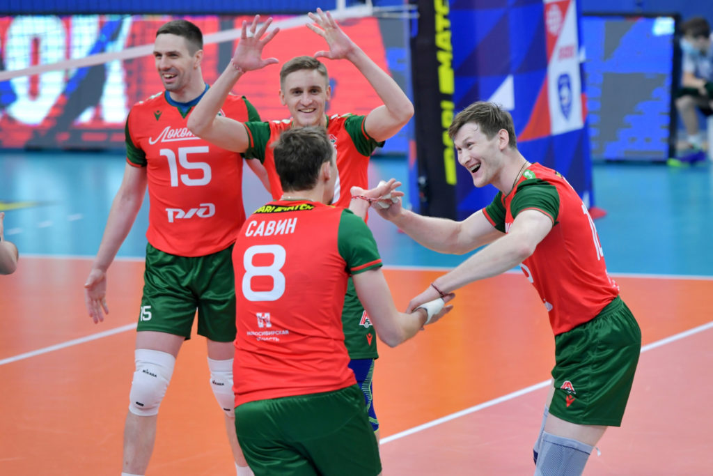 ВК Локомотив Новосибирск-ВК Кузбасс Кемерово