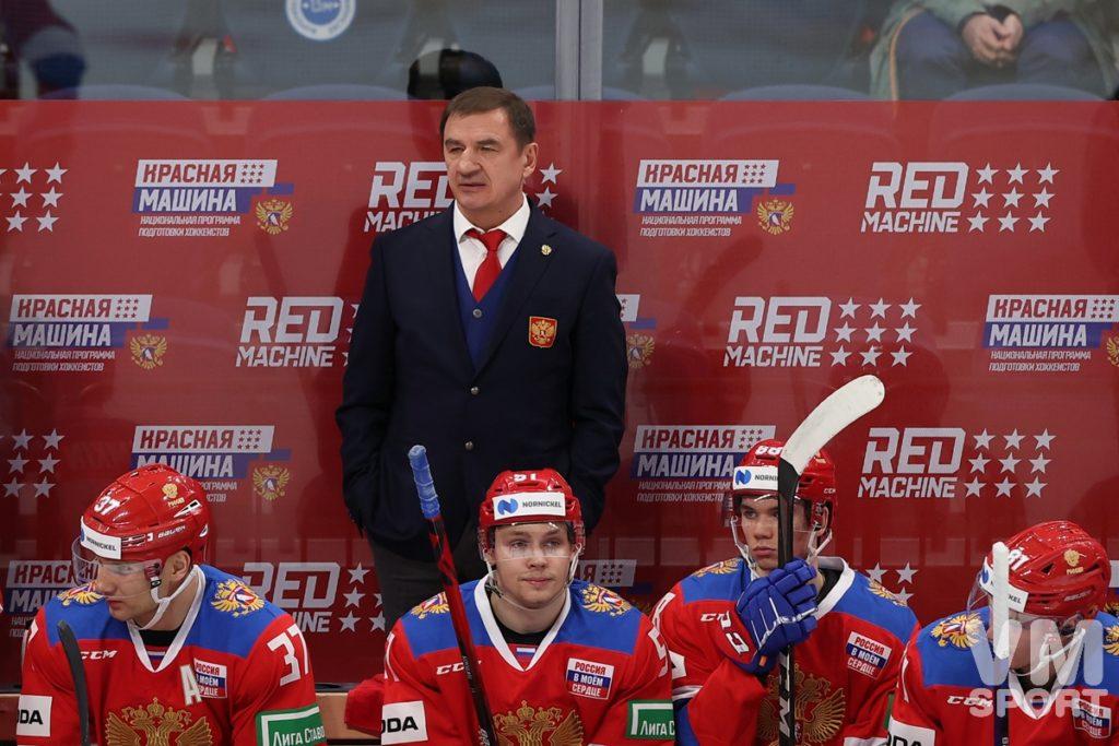Хоккей. Сборная России. Валерий Брагин