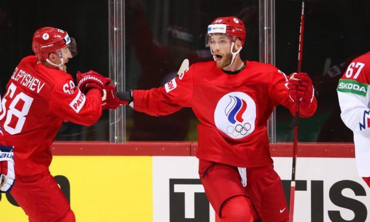 Россия-Чехия. Хоккей. ЧМ-2021