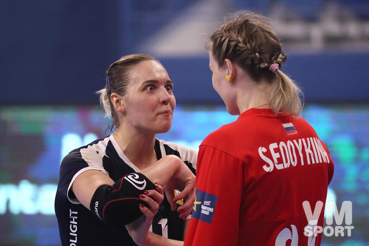 Дарья Дмитриева и Анна Седойкина. ПГК ЦСКА