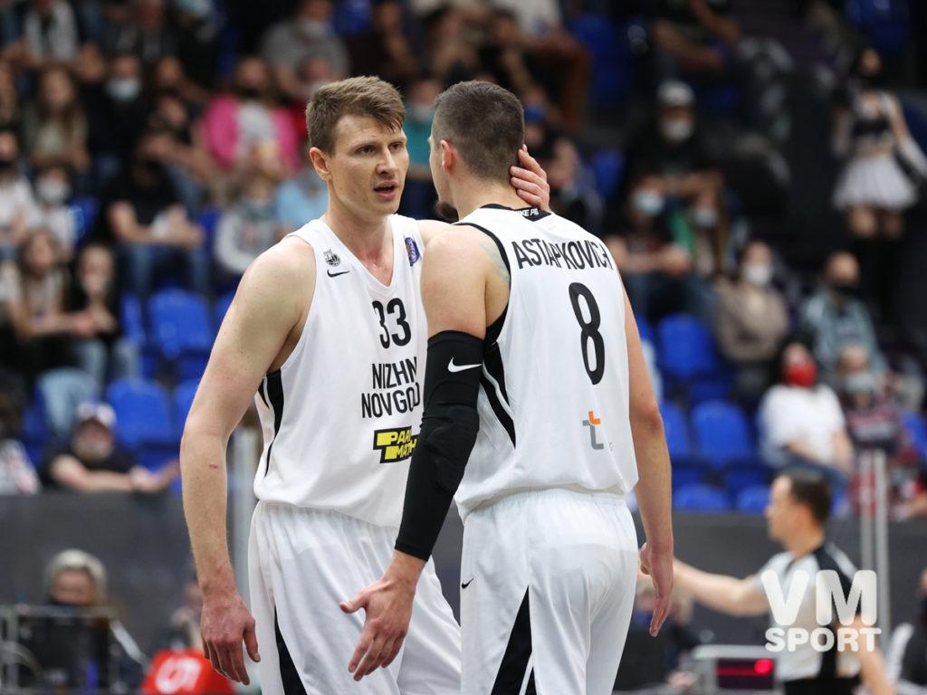 БК Нижний Новгород. Андрей Воронцевич и Антон Астапкович