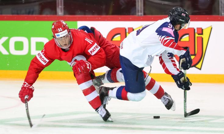 Великобритания-Россия. Хоккей. ЧМ-2021
