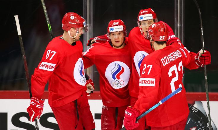 Россия-Дания. Хоккей. ЧМ-2021