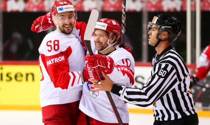 Швейцария-Россия. Хоккей. ЧМ-2021