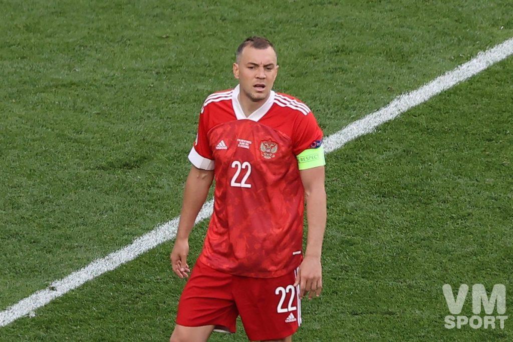 Футбол. ЕВРО-2020. Сборная России. Артём Дзюба