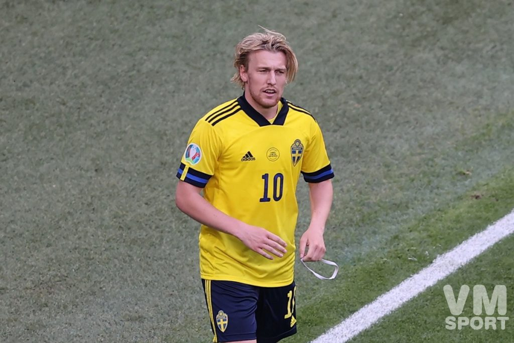 Футбол. ЕВРО-2020. Сборная Швеции.. Эмиль Форсберг
