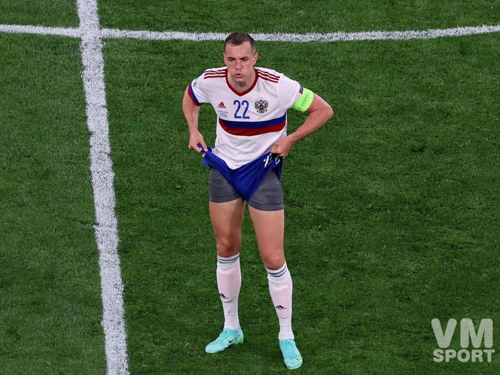 Артём Дзюба. Футбол. ЕВРО-2020. Сборная России