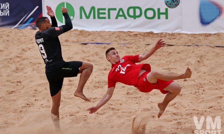 Пляжный футбол. ПФК Кристалл-ПФК Локомотив