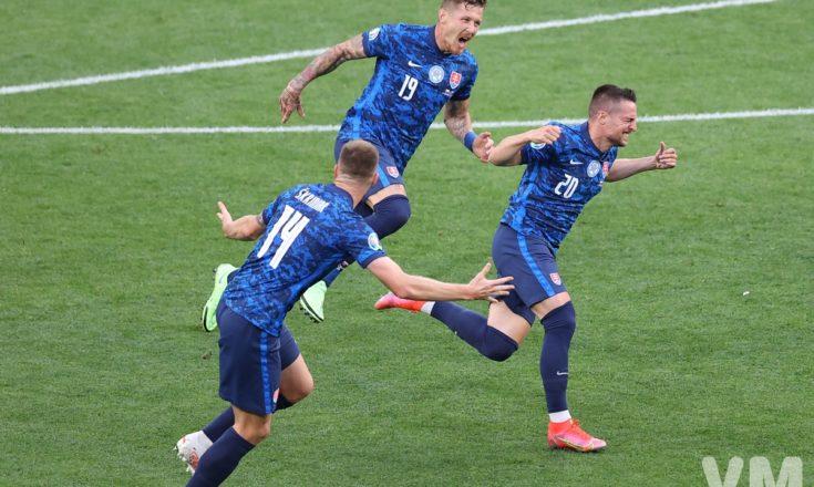 Футбол. ЕВРО-2020. Сборная Словакии