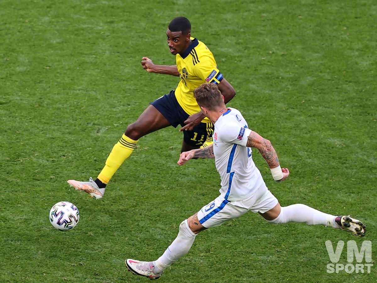 Футбол. ЕВРО-2020. Сборная Швеции-Сборная Словакии