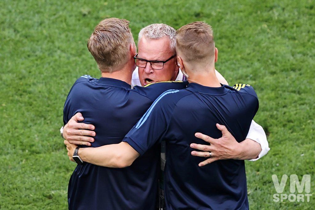 Футбол. ЕВРО-2020. Сборная Швеции. Янне Андерссон