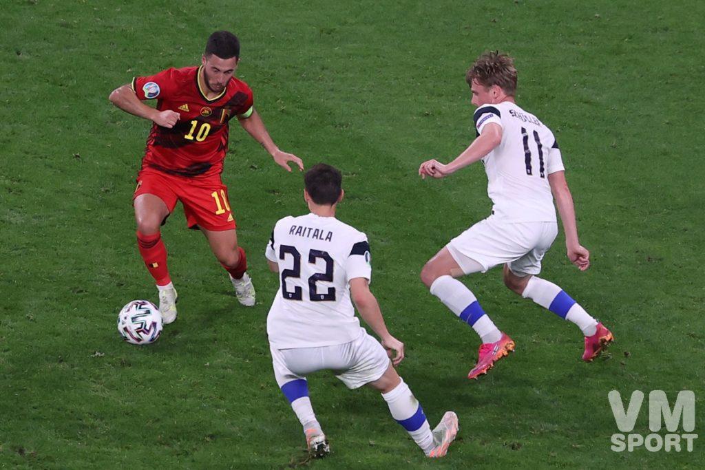 Футбол. ЕВРО-2020. Сборная Финляндии-Сборная Бельгии