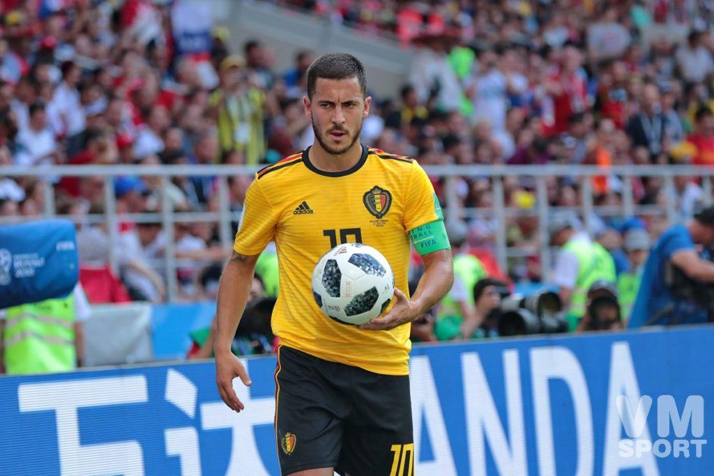 Эден Азар. Сборная Бельгии. Футбол.