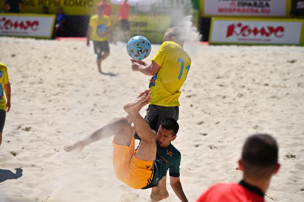 Пляжный футбол. Первый дивизион-2021