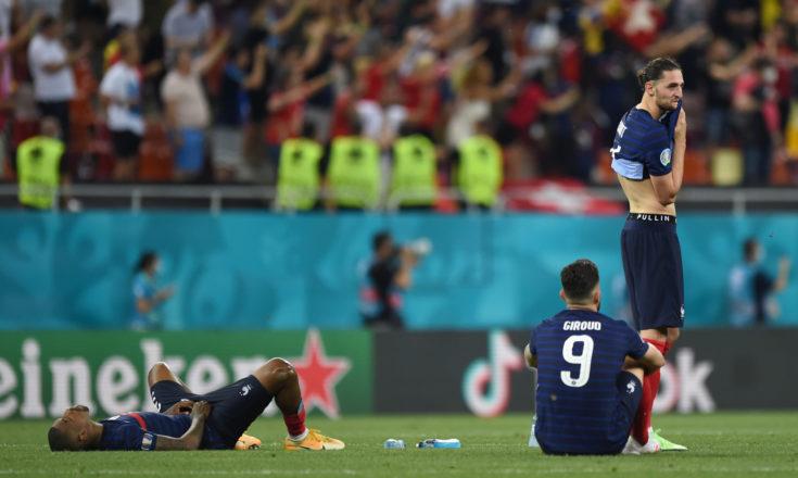Футбол. ЕВРО-2020. Сборная Франции-Сборная Швейцарии