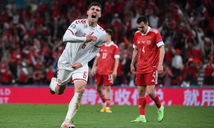 Футбол. ЕВРО-2020. Сборная России-Сборная Дании