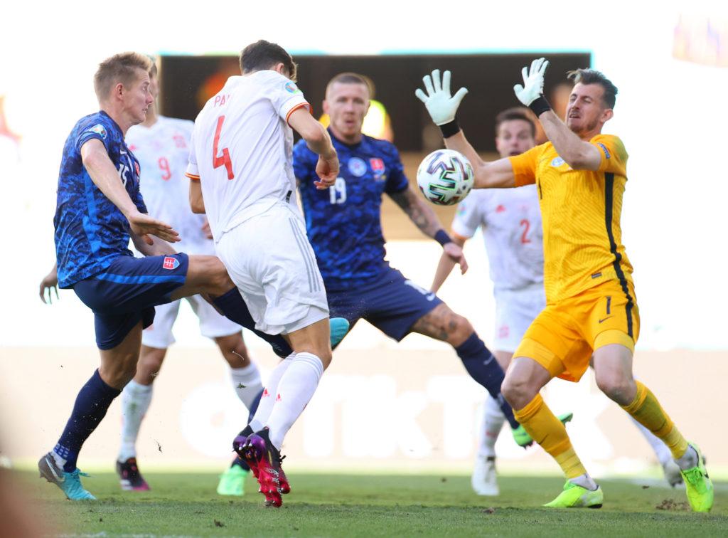 Футбол. ЕВРО-2020. Сборная Словакии-Сборная Испании