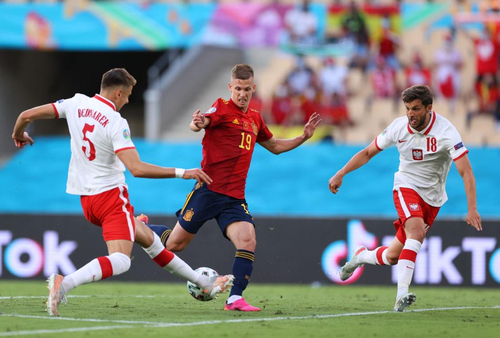 Футбол. ЕВРО-2020. Сборная Испании-Сборная Польши