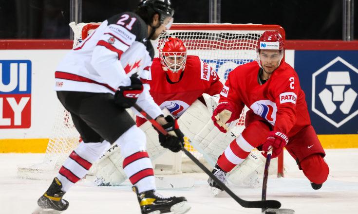 Россия-Канада. Хоккей. ЧМ-2021