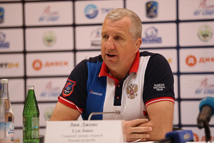 Лин Джонс. Сборная России по регби