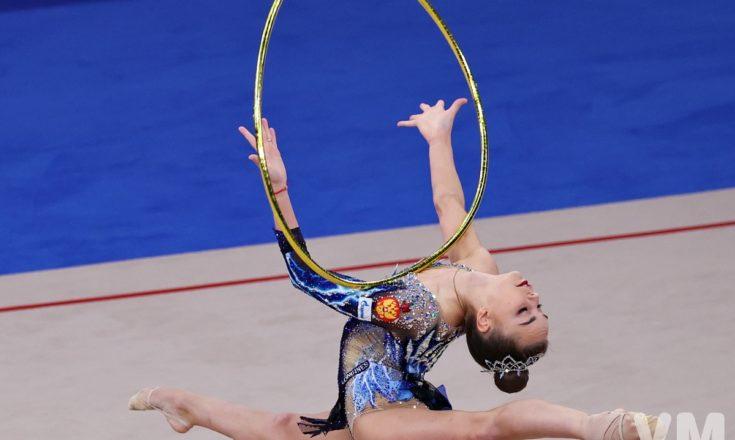 Художественная гимнастика. Дина Аверина