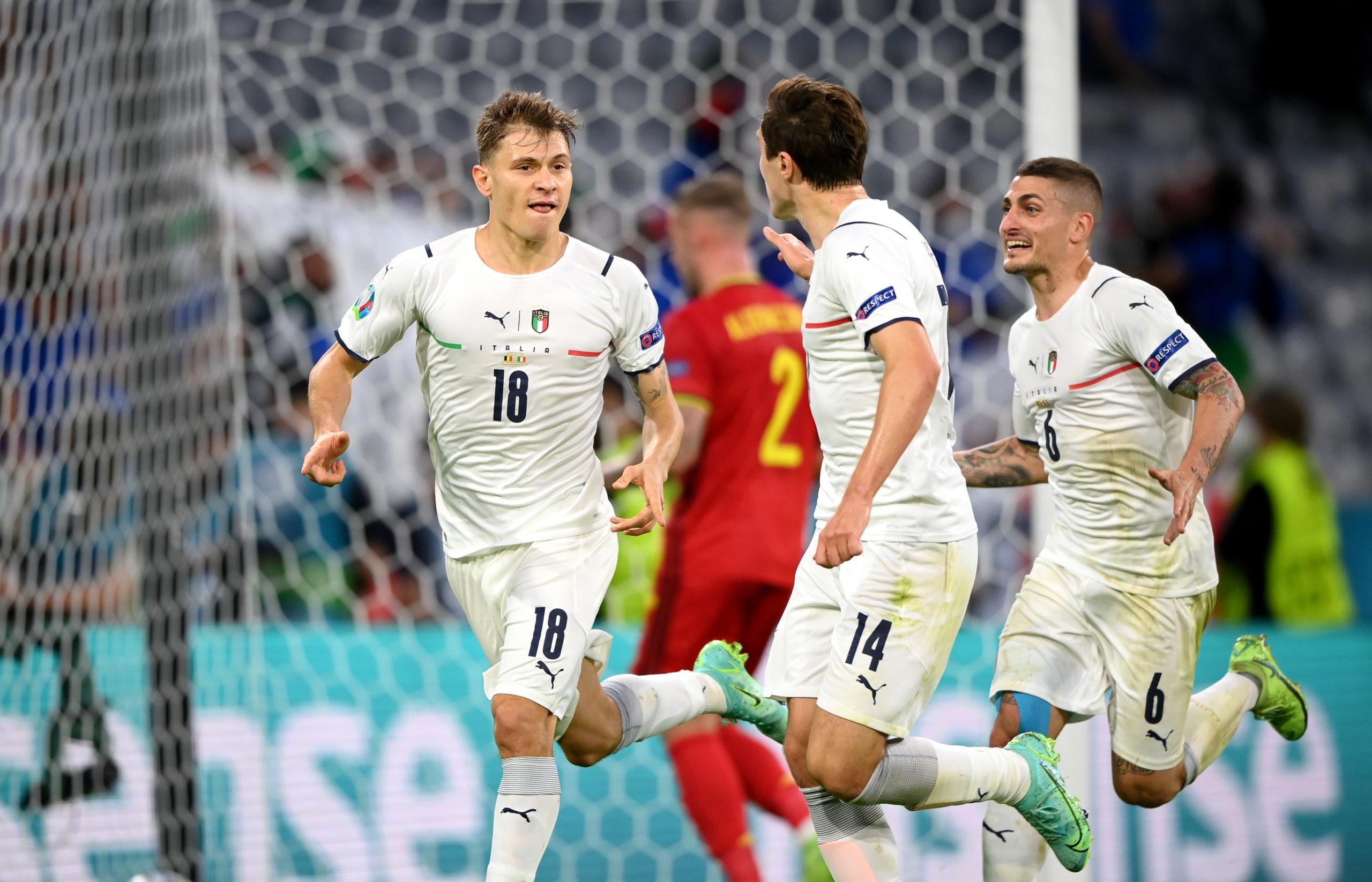 Футбол. ЕВРО-2020. Сборная Бельгии-Сборная Италии
