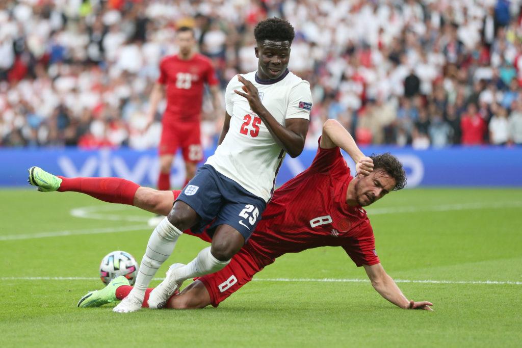 Футбол. ЕВРО-2020. Сборная Англии-Сборная Дании