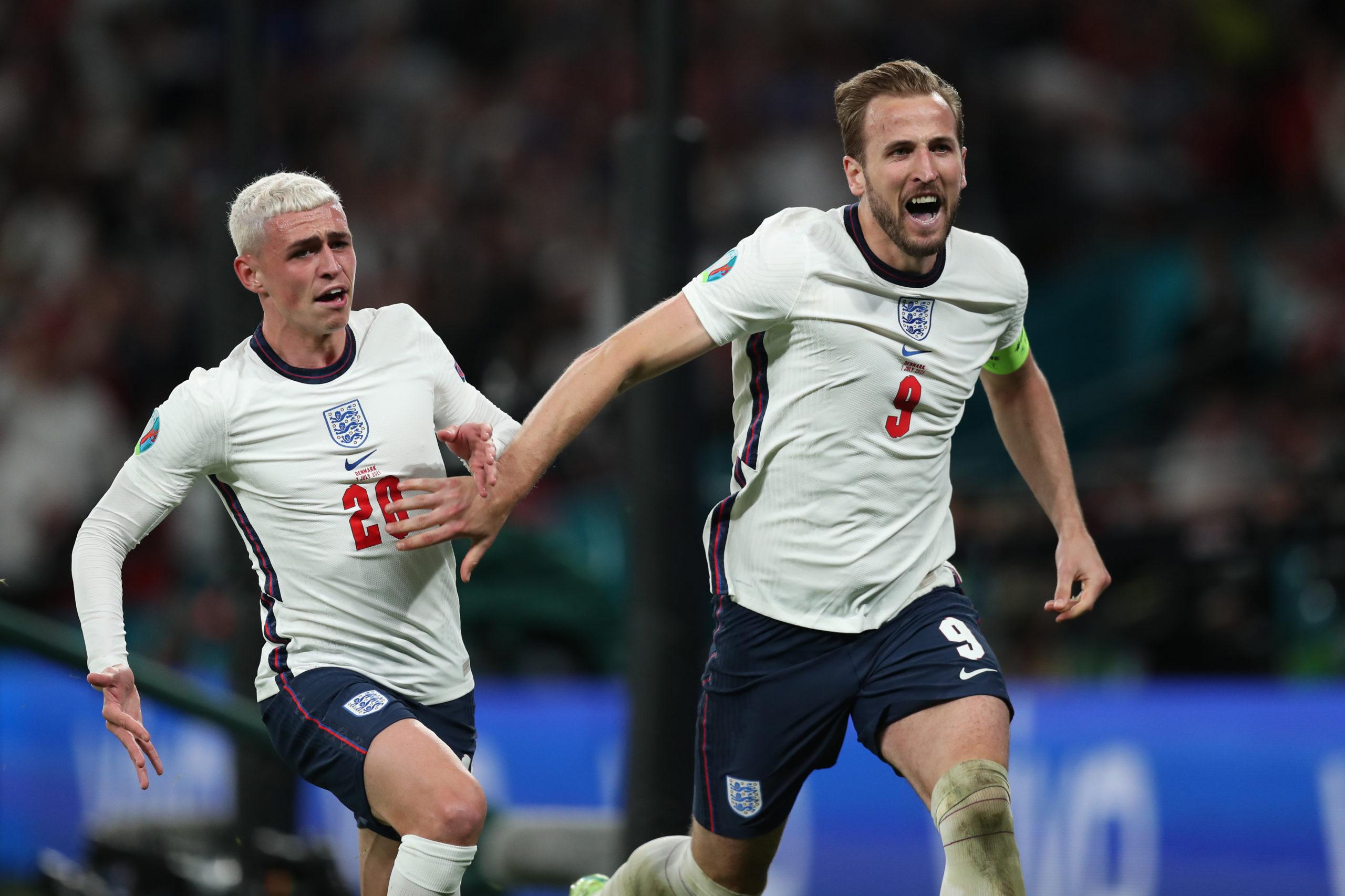 Гарри Кейн. Футбол. ЕВРО-2020. Сборная Англии-Сборная Дании