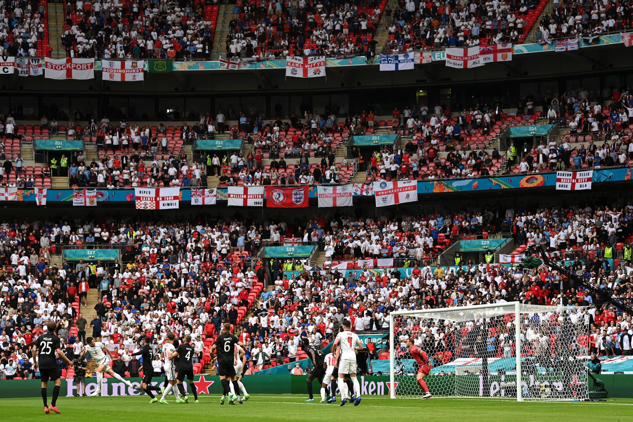 Футбол. ЕВРО-2020. Сборная Германии-Сборная Англии