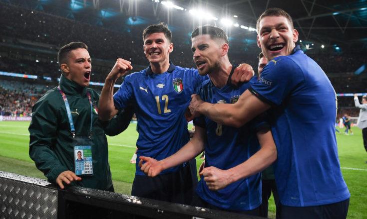 Футбол. ЕВРО-2020. Сборная Италии-Сборная Испании