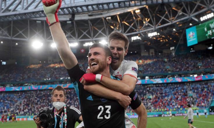Футбол. ЕВРО-2020. Сборная Швейцарии-Сборная Испании