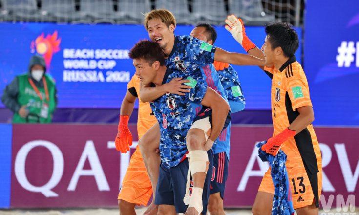 Пляжный футбол. Чемпионат мира. Сборная Японии