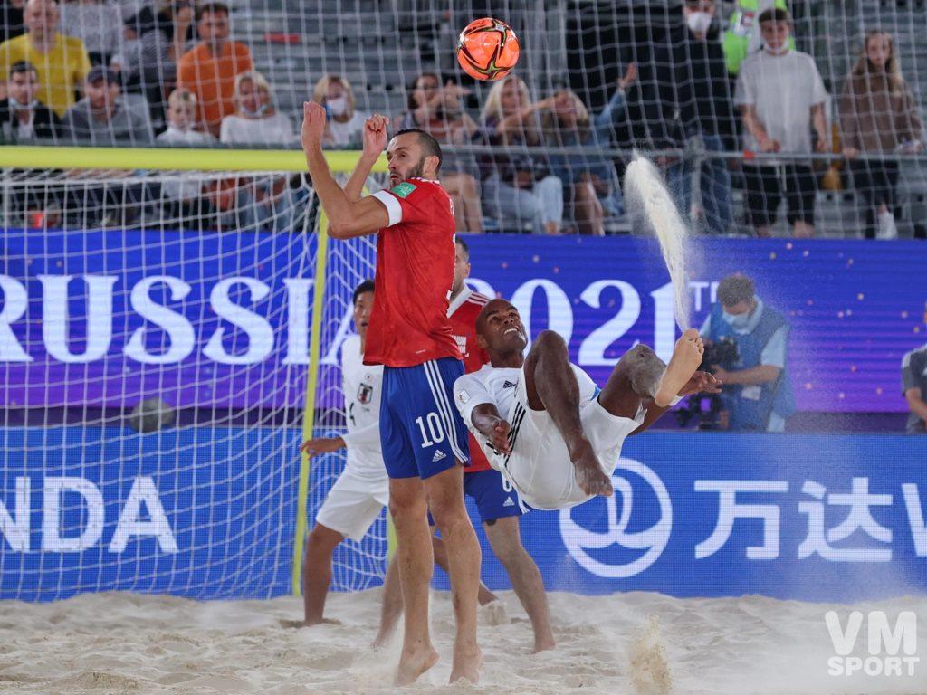 Пляжный футбол. Чемпионат мира. Сборная России-Сборная Японии