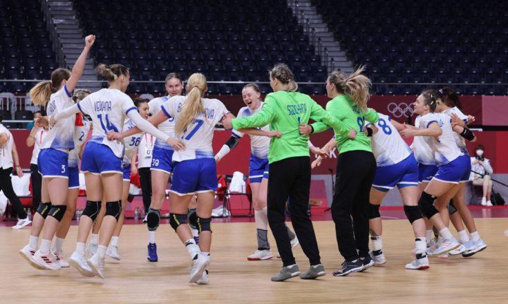 Сборная России по гандболу.Женщины