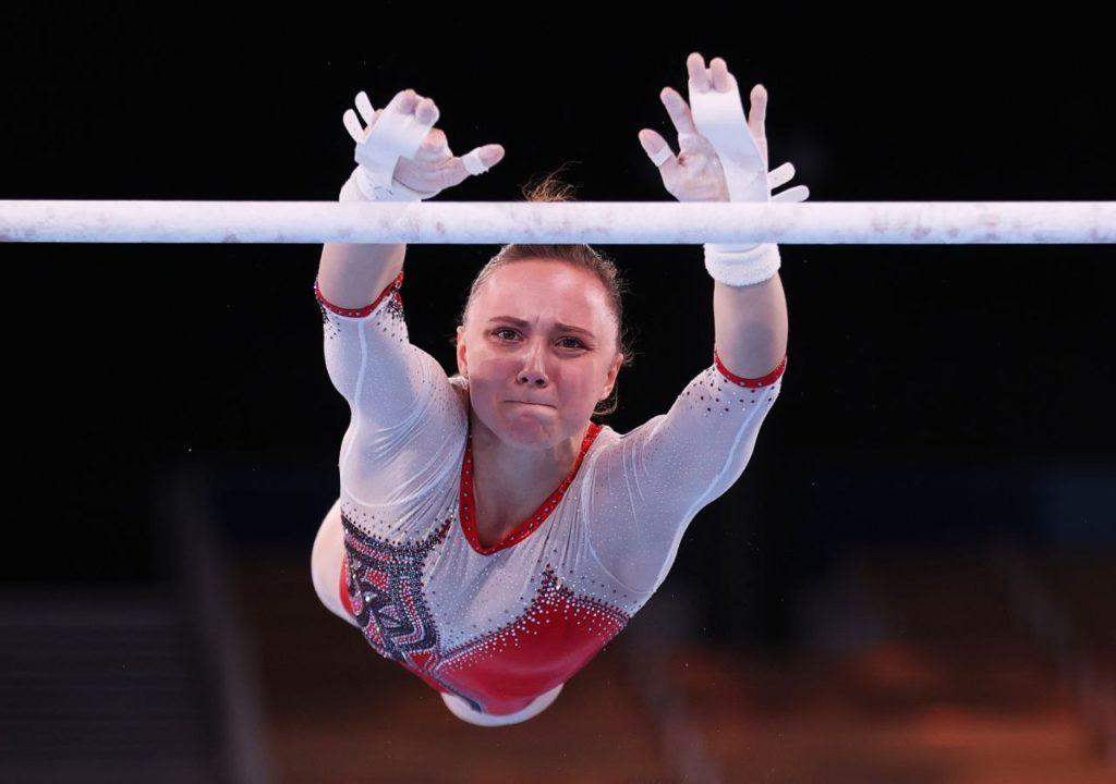 Олимпиада. Спортивная гимнастика. Анастасия Ильянкова
