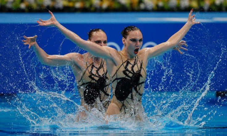 Олимпиада. Синхронное плавание