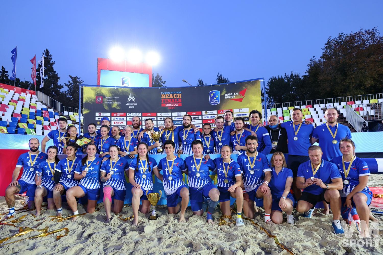 Пляжный регби. Финал Чемпионата Европы. Сборная России