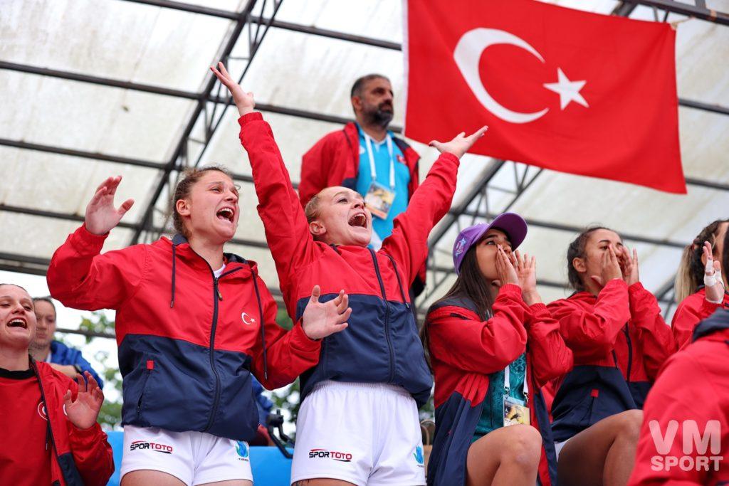 Пляжный регби. Финал Чемпионата Европы. Сборная Турции