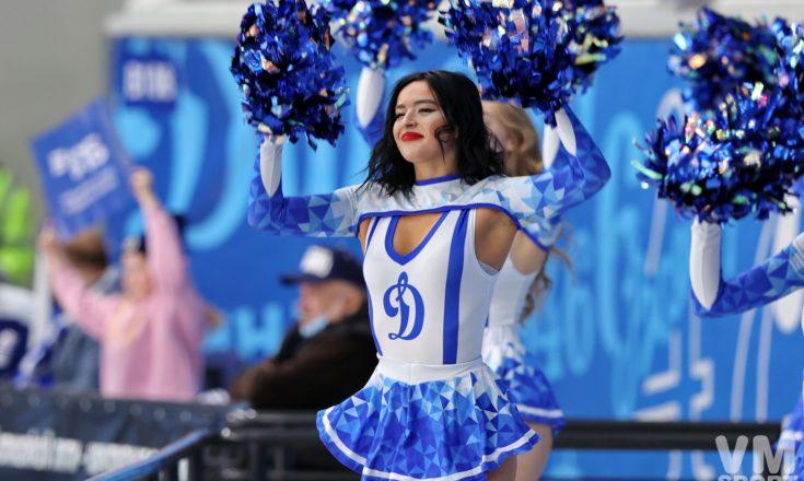 ХК Динамо. Танцевальная группа поддержки