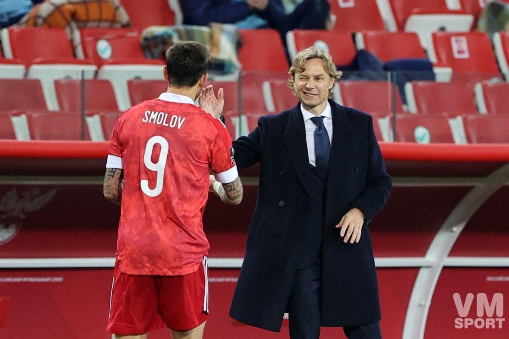 Валерий Карпин. Футбол. ЧМ-2022. Сборная России-Сборная Мальты